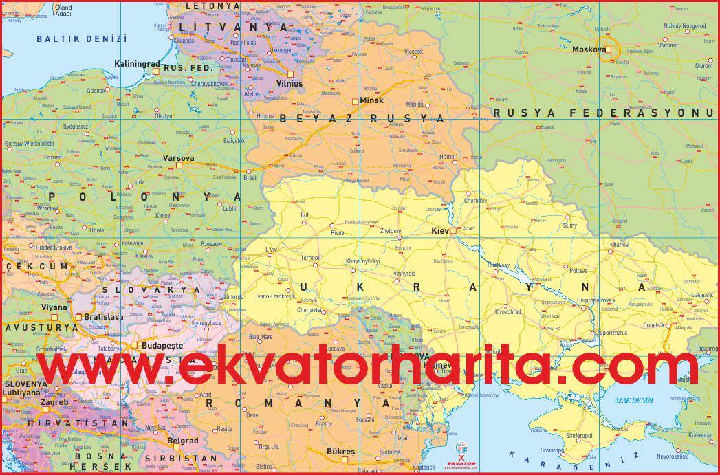 Beyaz rusya haritası nereden alınır beyaz rusya haritası nerede