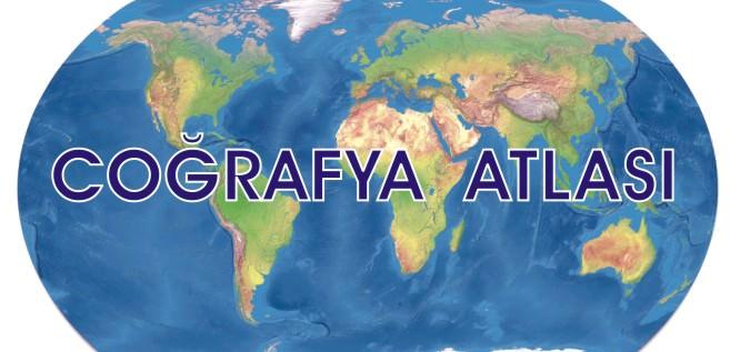Coğrafya atlası basılı coğrafya atlas dijital coğrafya atlası