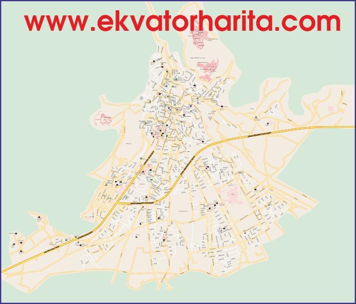Turistik Efes Haritası