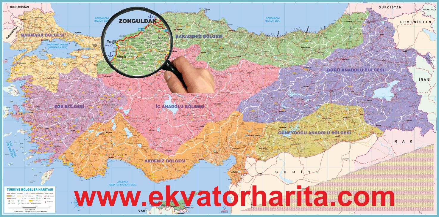 Bölgeler haritası indir türkiye bölgeler haritası download